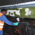 Nettoyage du bas de caisse