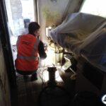 Préparation pour la peinture Cabine 2