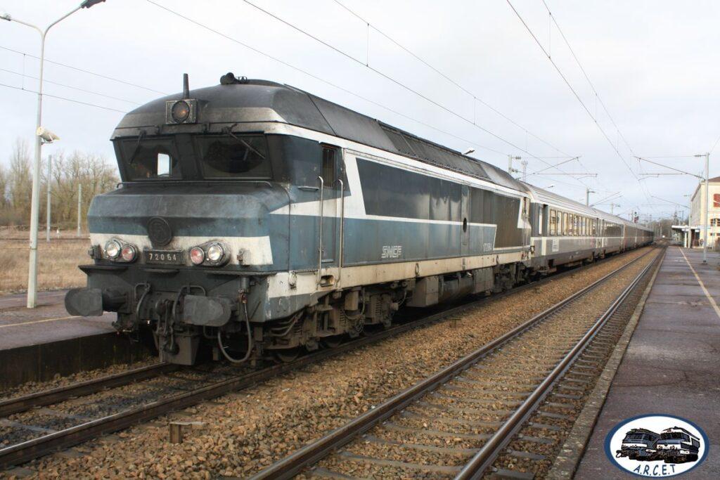 Lors de ces derniers trains entre Lyon et Tours en 2009