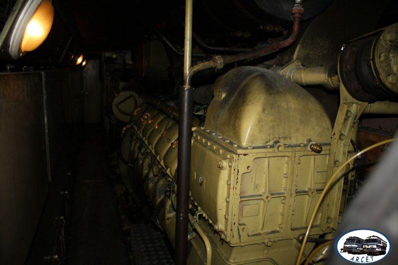Le moteur PA4 V16 SEMT Pielstick en action